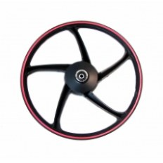 FERRO 900 50CCM FELGA 17x1,2 KOŁA PRZÓD (czarno-czerwona) (szczęki)