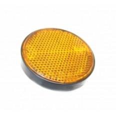 FERRO 125 ODBLASK (okrągły) POMARAŃCZOWY