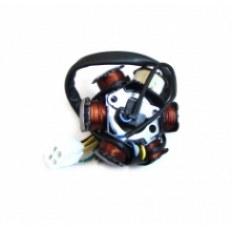 SILNIK 110 FMB ISKROWNIK FMB KPL. (6 cewek) (kostka 4 piny + 1 przewód)
