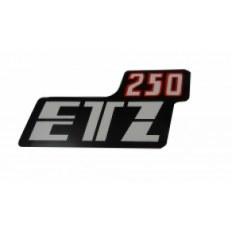 NALEPKA KAPY BOCZNEJ MZ ETZ 250