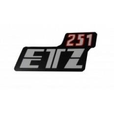 NALEPKA KAPY BOCZNEJ MZ ETZ 251