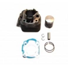 SILNIK 2-SUW CYLINDER KPL. (40mm) (zestaw tłok grafitowany pierścienie sworzeń 12mm 2x uszczelki)