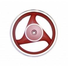 FERRO 303 FELGA 12x2,50 KOŁA TYŁ CZERWONA (19 frezów; 4-SUW; szczęki) (aluminiowa)
