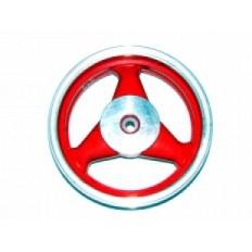 FERRO 303 FELGA 12x3,50 KOŁA TYŁ CZERWONA (19 frezów; 4-SUW; szczęki) (aluminiowa)