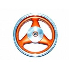 FERRO 303 FELGA 12x3,50 KOŁA TYŁ POMARAŃCZOWA (19 frezów; 4-SUW; szczęki) (aluminiowa)