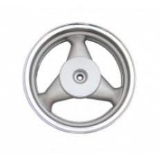FERRO 605 FELGA 12x3,50 KOŁA TYŁ (aluminiowa) SREBRNA (19 frezów; szczęki; 4-SUW)