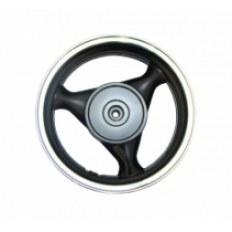 FERRO 605 FELGA 13x3,50 KOŁA TYŁ (aluminiowa) CZARNA (szczęki) (125ccm)