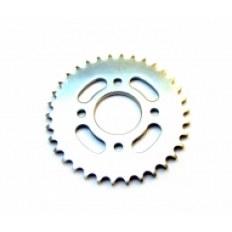 JUNAK M11/M11 Cafe/M25 125CCM/320CCM/250CCM ZĘBATKA Z-34 (do łańcucha H530) NAPĘDOWA TYŁ (wew.58mm / 4 otwory / rozstaw śrub 63mm) (2015)