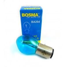 ŻARÓWKA BOSMA 12V 35/35W BA20D BLUE