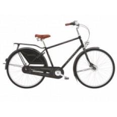 """Rower ELECTRA 28"""" AMSTERDAM ROYAL 8i BIEGOWY, CZARNY, ALUMINIOWY MĘSKI 292052"""