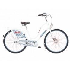 """Rower ELECTRA 28"""" AMSTERDAM FASHION 3i BIEGOWY, BIAŁY LOVE, ALUMINIOWY DAMSKI 293104"""